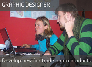 Volunteer Graphic Designer Peru or India
