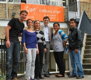 FairMail in front of the La Carterie office last year