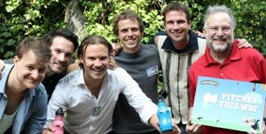 The five Dutch finalist with Jerry Greenfield