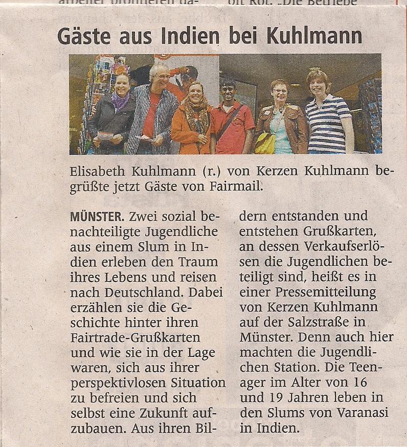 Second German Newspaper article