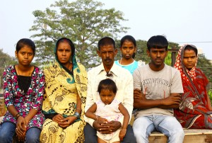 Dhiraj with his family