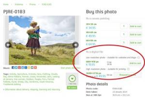 FairMail's Fair Trade Photo Database