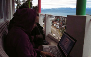 Digital nomad in the Himalaya's