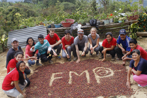 FairMail Peru team after the coffee harvest