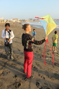 Time to see if the kites will fly