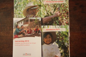 Fairtrade FairMail photography for ASN Bank year report