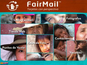 FairMail's first website, back in  2006