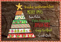 Fair Trade Christmas Card