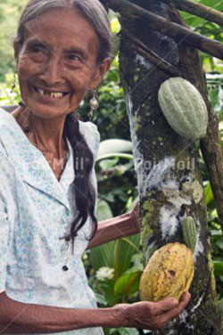 One of the friendly cacao producers from the Amazon village of Tununtunumba