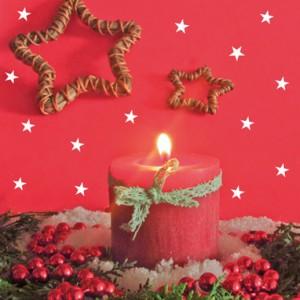 Julissa's first fair trade Christmas card