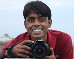 Former FairMail India photographer Anil Rao